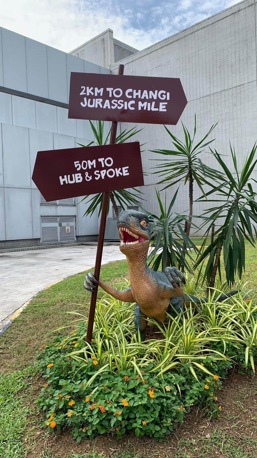 Experience a Pre-historic Journey at Changi Jurassic Mile!