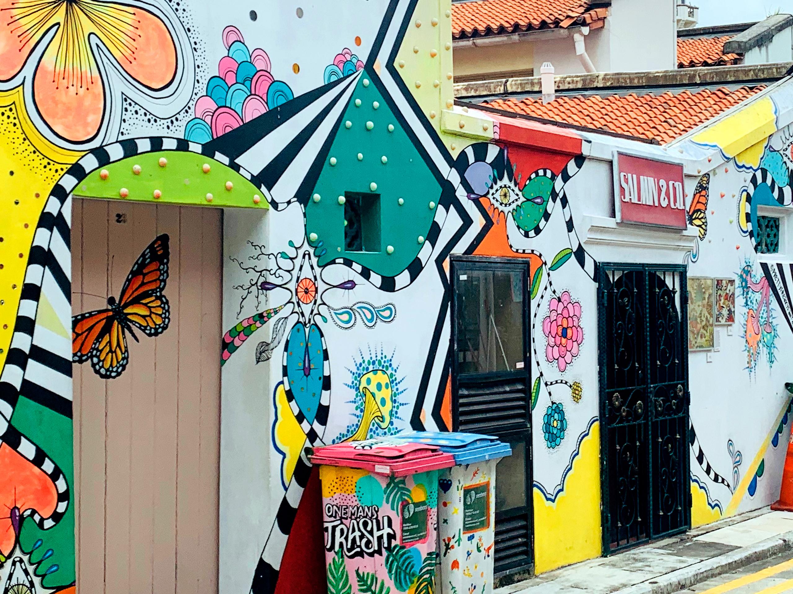 Where to take Insta-worthy Street Art photos in Singapore?