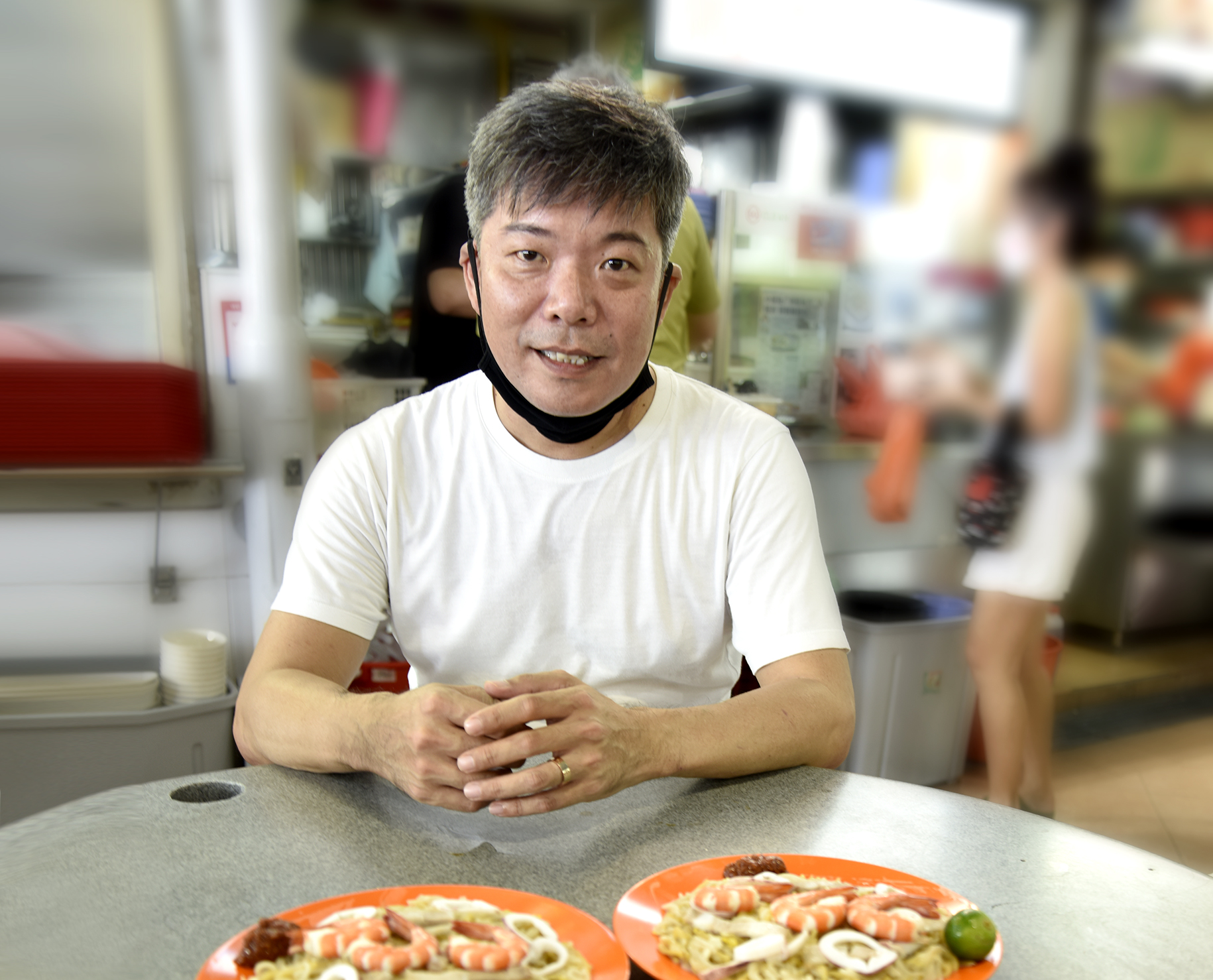 EXCLUSIVE INTERVIEW: Pilot of Major Airline venture into Hawker Foodfare