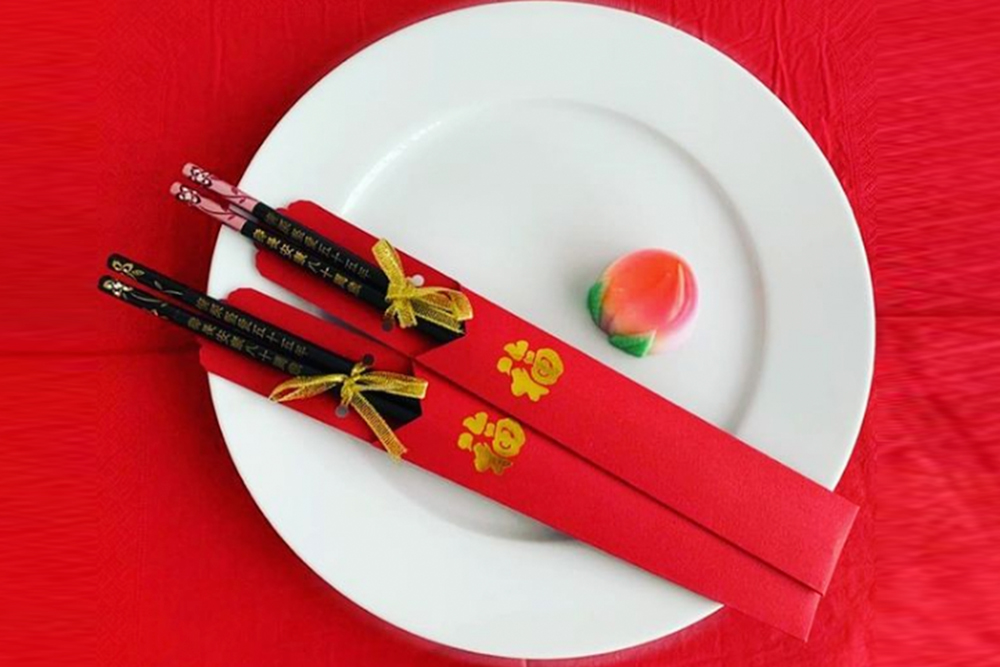 New Year, New Pair of Chopsticks at Orchid Chopsticks